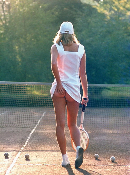 1977 Athena Tennis Girl