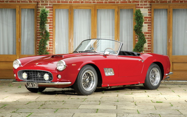 Ferrari 250 GT SWB California Spyder (open headlights) 1960-63