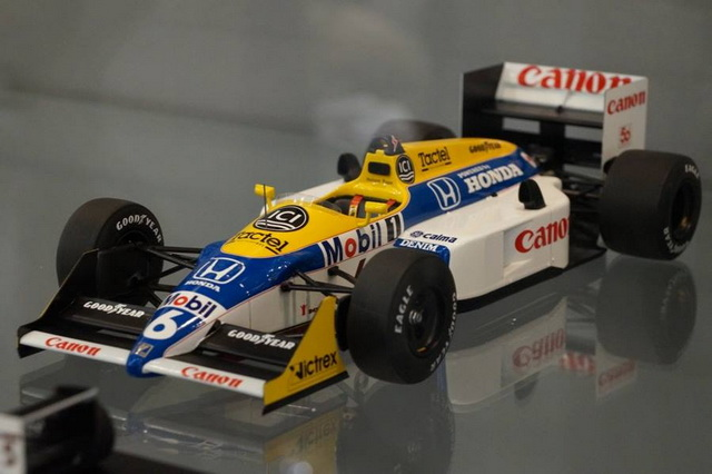 Spark 1987 Japanese Grand Prix, #6, Nelson Piquet, Williams-Honda FW11
