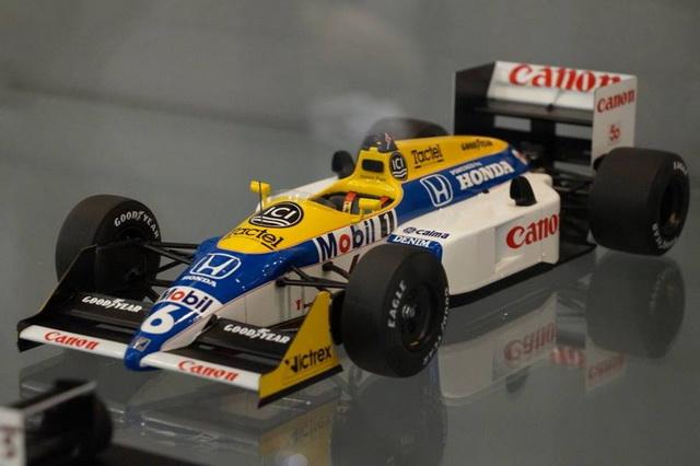 Spark 1987 Japanese Grand Prix, #6, Nelson Piquet, Williams-Honda FW11