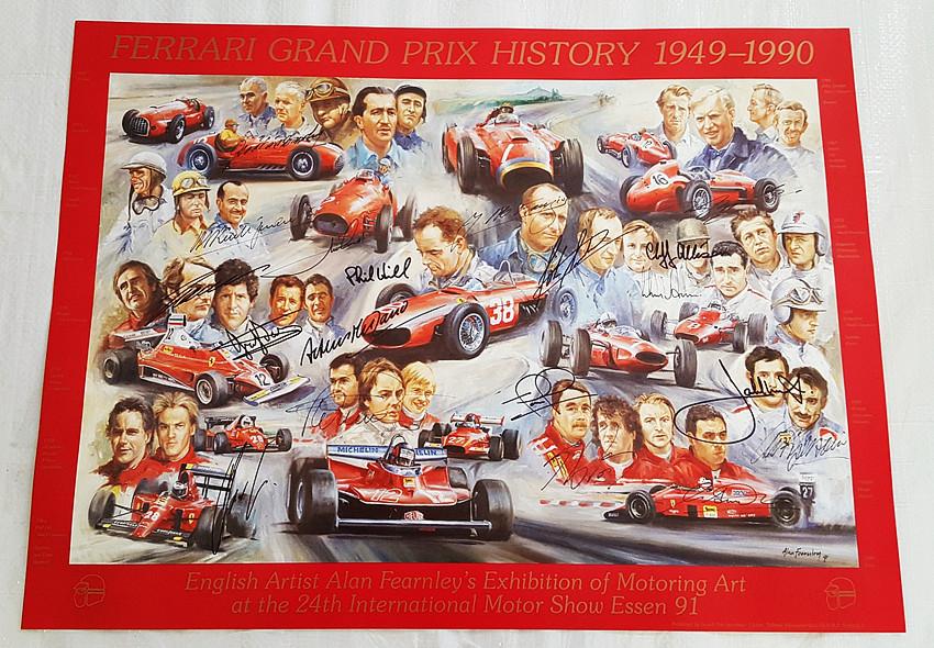 FerrariAnniversaryPrint